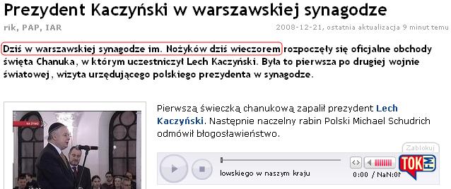 dziś w Warszawie dziś